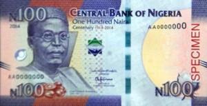 100 Naira 2014